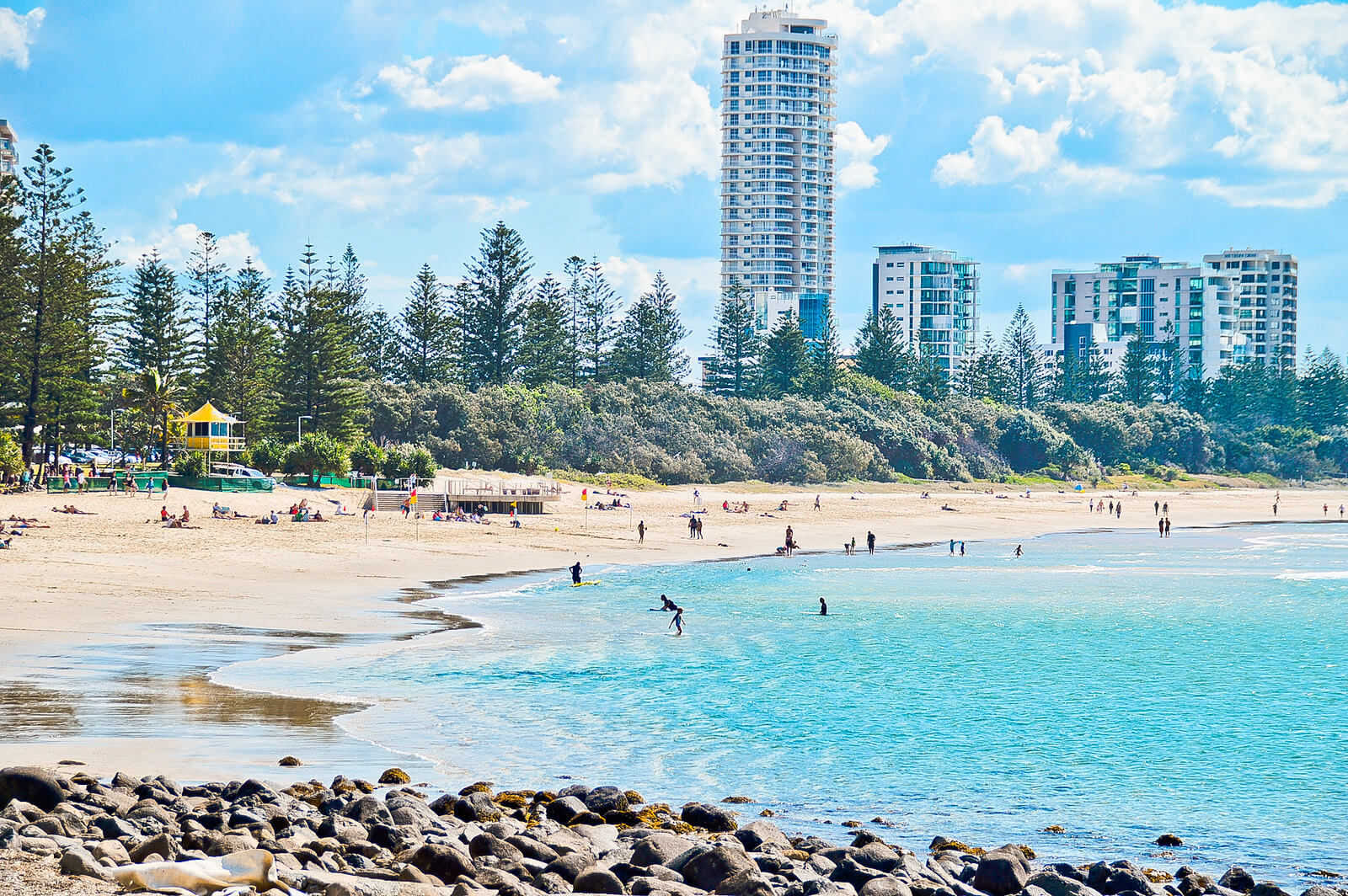 gold coast - Burleigh Heads Beach