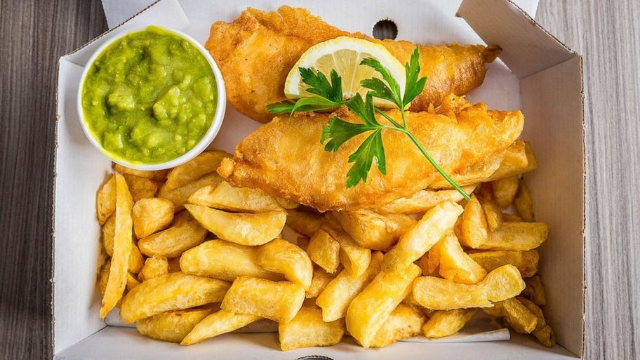 comida tipica de irlanda - fish and chips