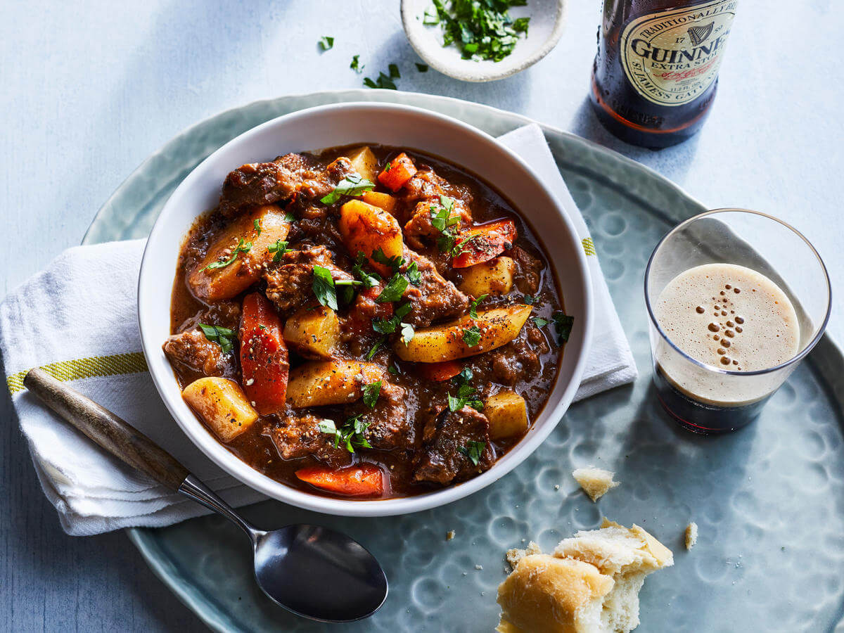 comida tipica de irlanda - Beef and Guinness Stew