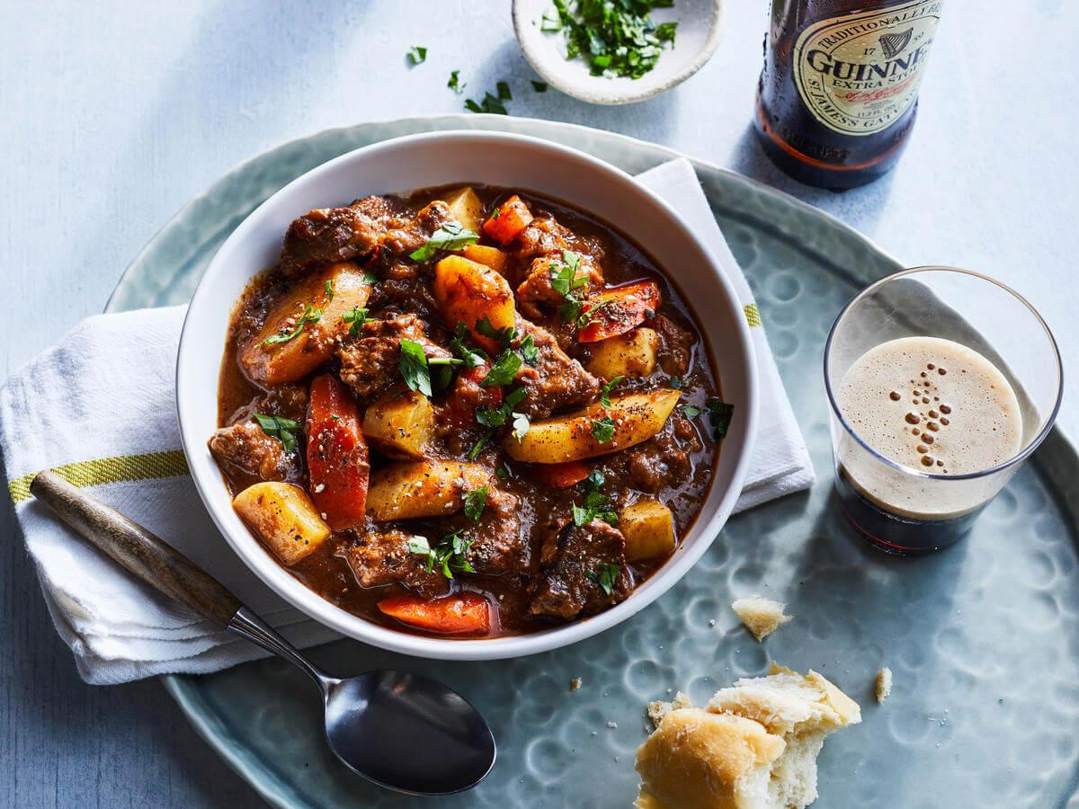 comida tipica de irlanda - Beef and Guinness Stew