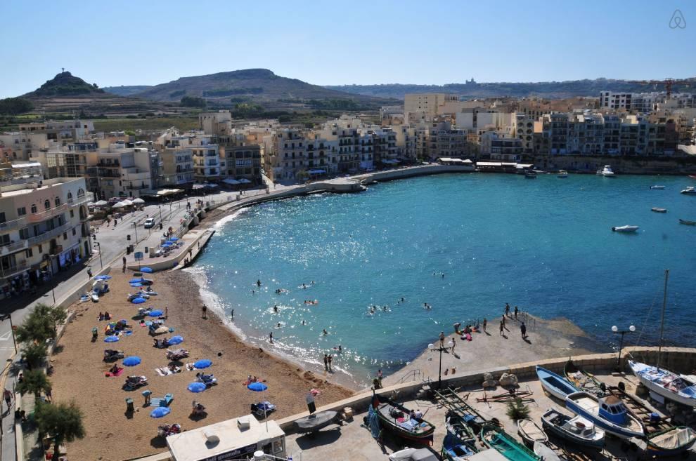 playas de malta - Marsalforn