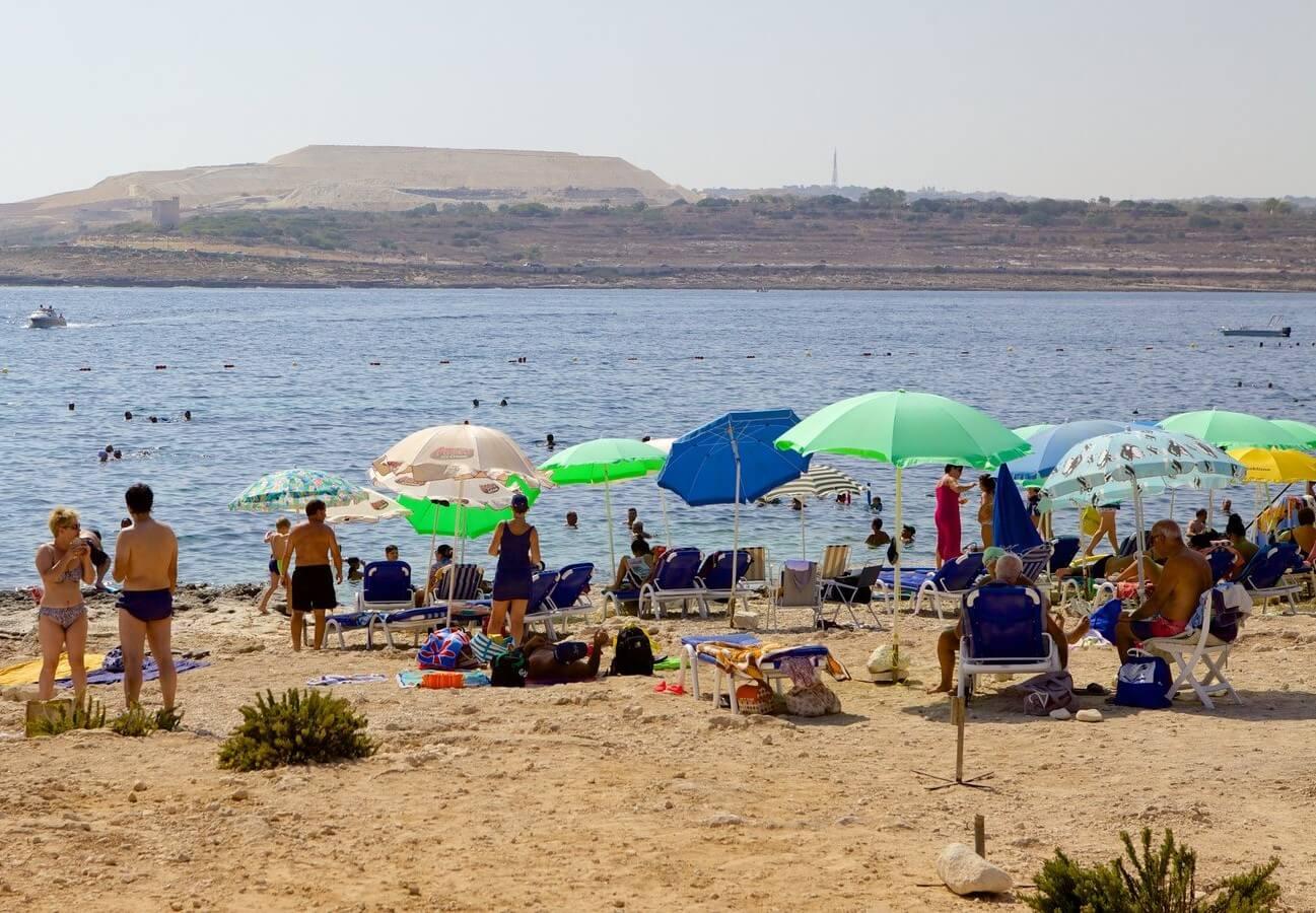 playas de malta - Qawra
