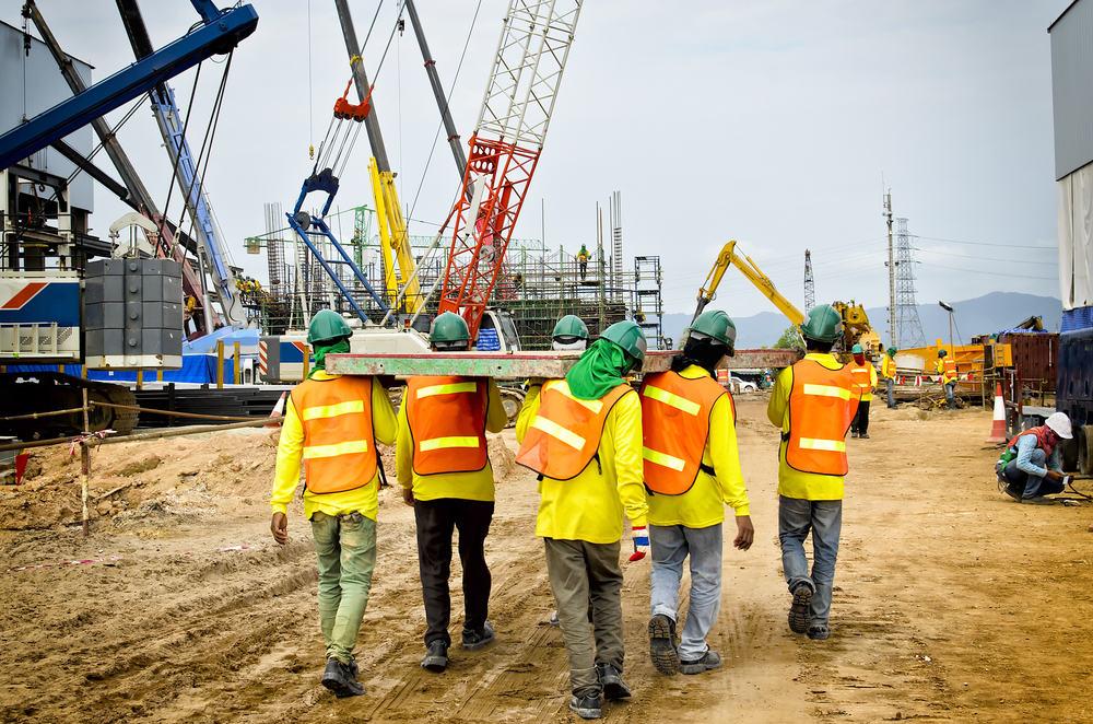 empleos en el extranjero - building and construction labourers
