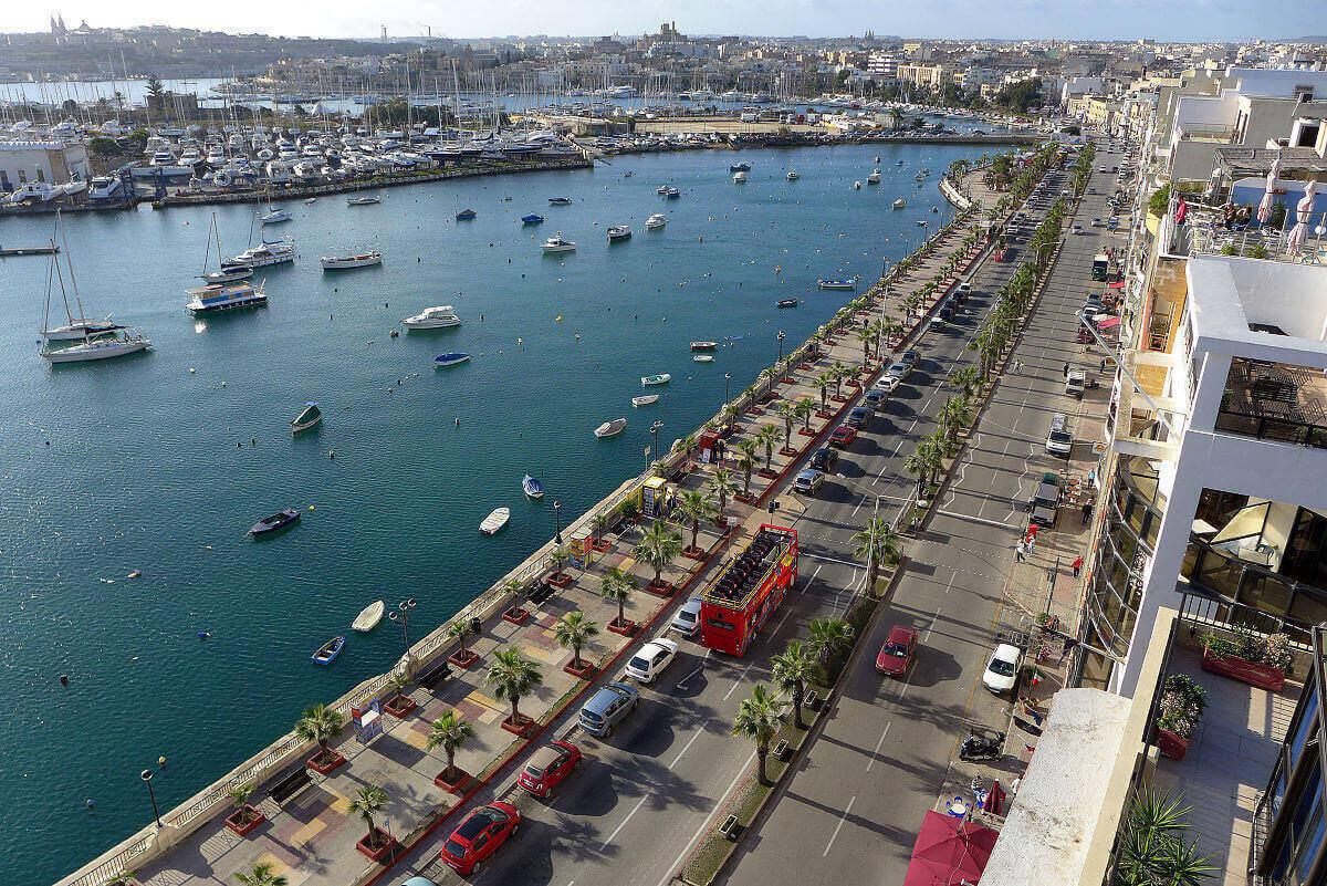 playas de malta - Gżira
