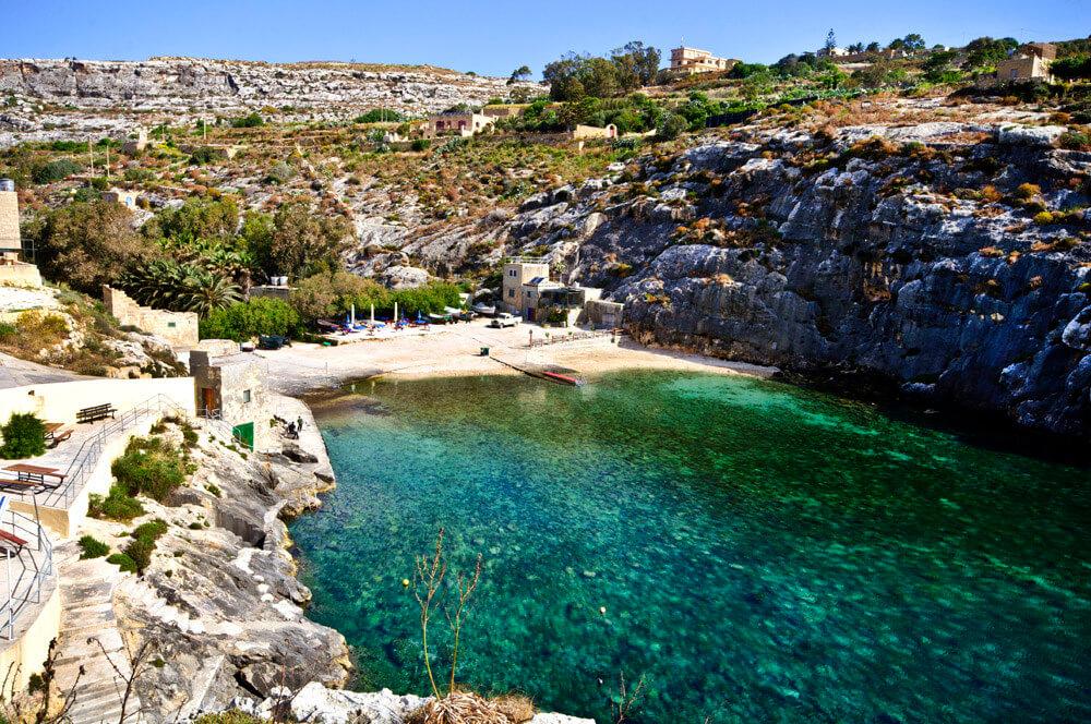 playas de malta - Mġarr ix-Xini