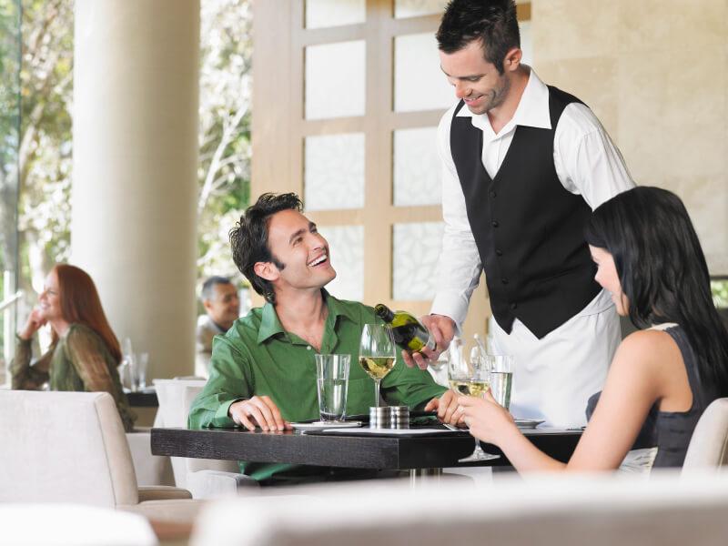 trabajos en el extranjero - camarero