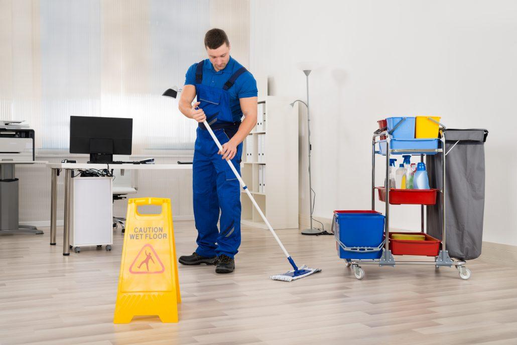 empleos en el extranjero - cleaner