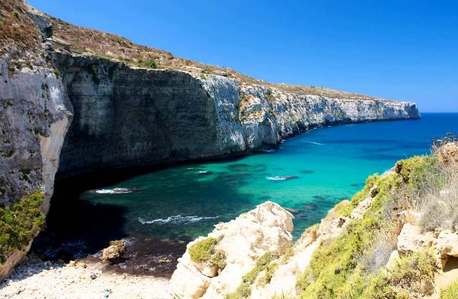 playas de malta - sannat