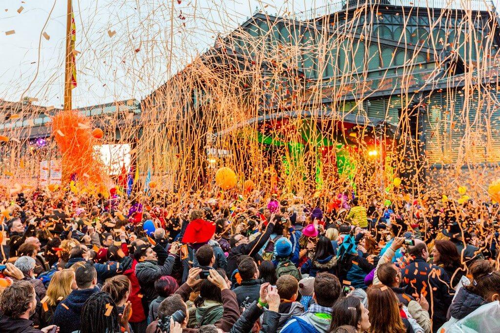 carnaval en el mundo - barcelona