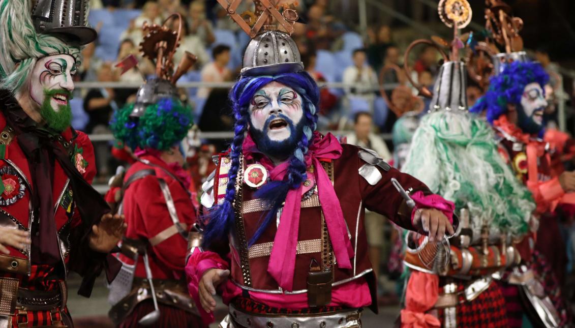 carnaval en el mundo - montevideo