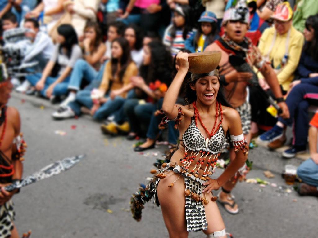 carnaval en el mundo - quito