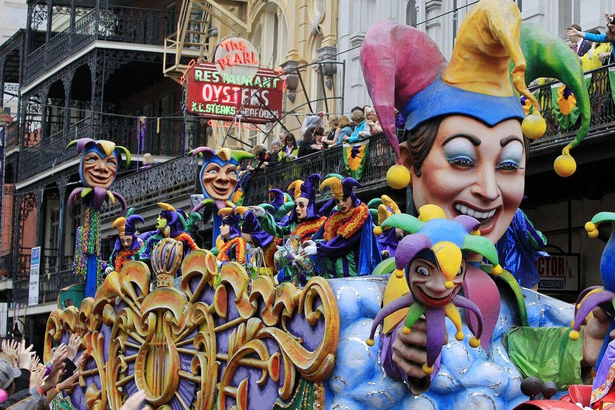 carnaval en el mundo - nueva orleans