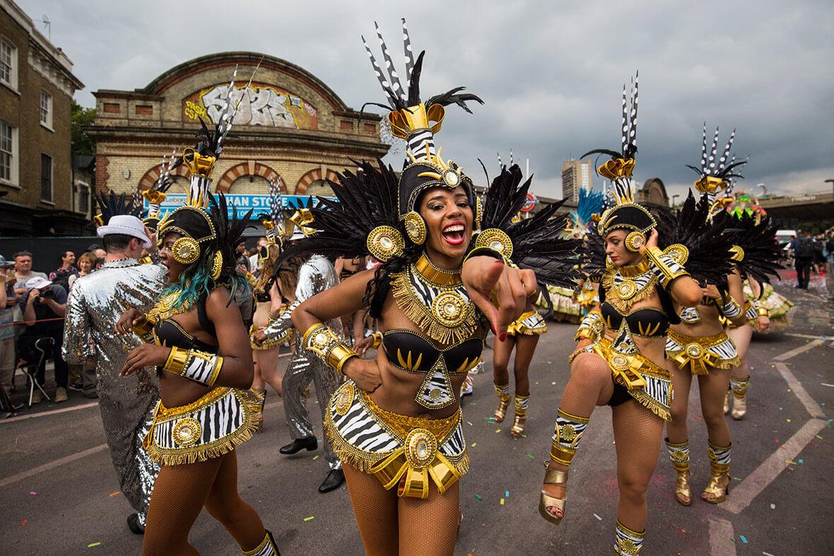 carnaval en el mundo - londres