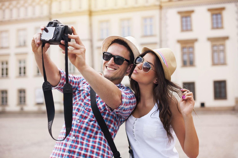 viajar solo al extranjero - cámara