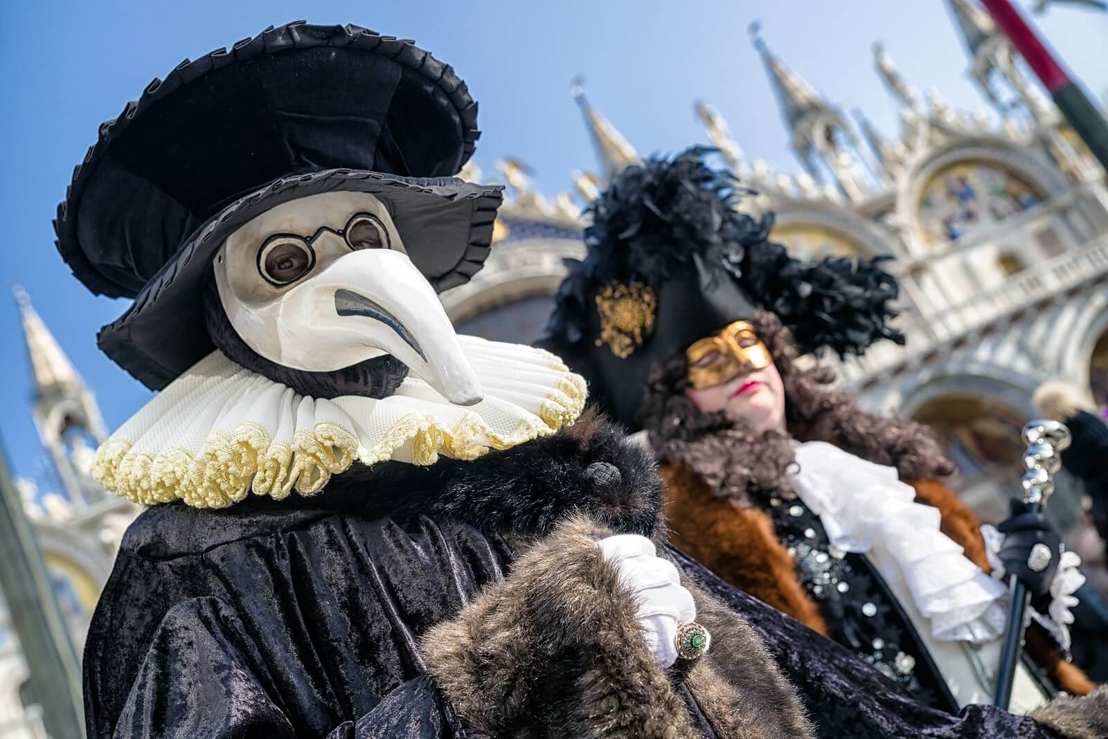 carnaval en el mundo - venecia