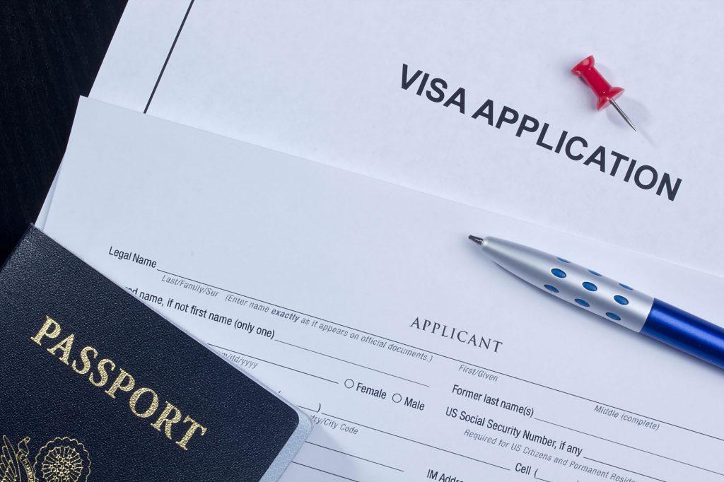 agencia de intercambio - soporte con el visado
