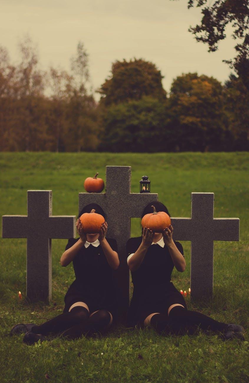 origen del halloween cemiterio